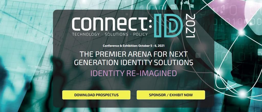 Connect:ID – 5 – 6 October 2021 | Washington DC