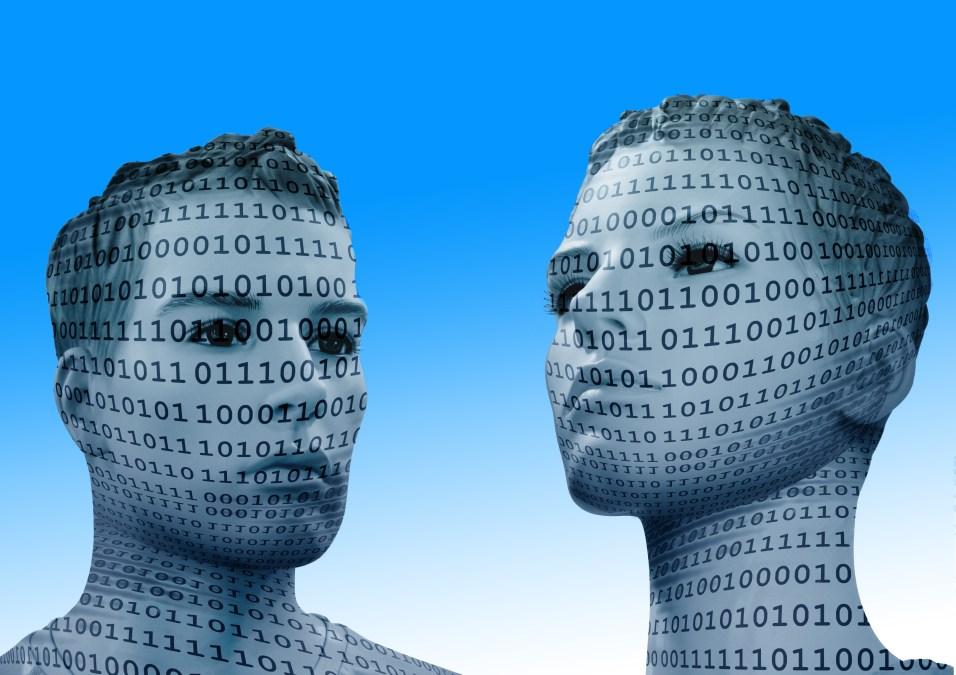 binary, code, man