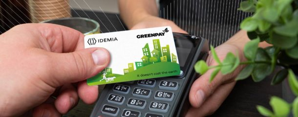 IDEMIA's GREENPAY cards certified by Mastercard as sustainable