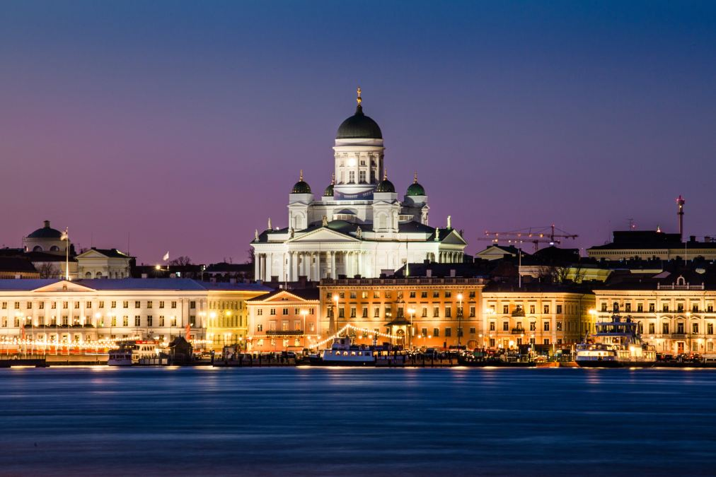Helsinki Cathedral at Nightfall