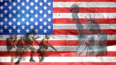 veteran, american, independence